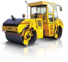 Vibro compactadora hidráulica mod: YZC12a SANY