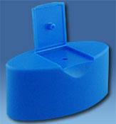 Sobretapa Flip-Top Snap Ovalada 24mm