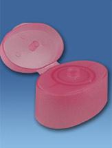 Caps sealing polymeric