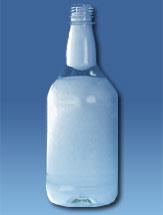 Botella Cilíndrica Licores 750 ml P.E.T B28mm PCO