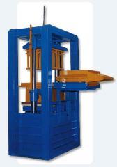 Máquinas para fabricación de bloques y adoquines