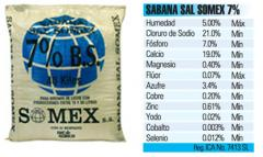 Sabana Sal Somex 7%