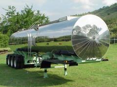 Tanques para transporte de Alimentos