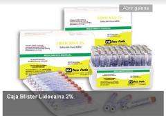 Agente anestesiante Lidocaína