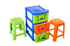 Muebles y Butacos plasticos