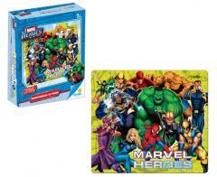 Rompecabezas X 30 Pzas Marvel Heroes (Linea Azul)