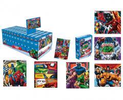 Rompecabezas X 35 Pzas Stickers Marvel Heroes