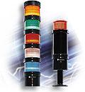 Balizas y baterías de indicadores modulares, 70 mm