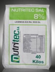 Sal Mineral Nutritec Sal 8%
