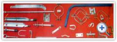 Herrajes para líneas eléctricas de baja, media y