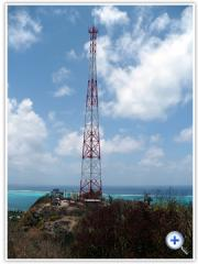 Telephone transmission towers