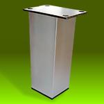 Pata Cuadrada (Aluminio, Acero)