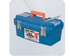 """Caja herramienta 16"""" cierre metálico"""