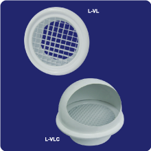 Ventilation round lattices