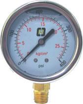 """Manómetro con glicerina 2.5"""" CT"""