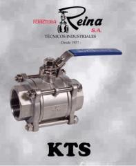 Válvula de bola de 3 piezas (KTS)