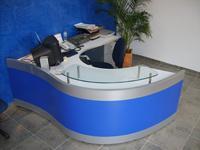 Oficina Modular Panel Curvo