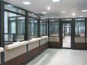 Oficina Modular  Panelería Media altura y Piso