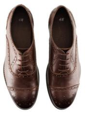 Gece zarif erkek ayakkabısı