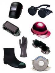 Implementos de seguridad industrial