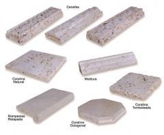 Piedra natural sujeta a variaciones de tonos y