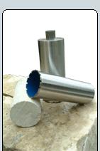 Brocas Diamantadas Sacanúcleos para la perforación
