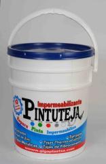 Pintura para tejas 1/4 Galon Pintuteja Azul