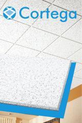 Cielo raso en fibra mineral  Cortega Gyplac