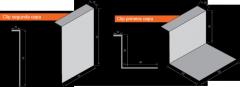 Clips de Fijación (Para grafado a 180°)