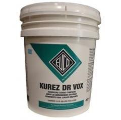 Curador base acuosa, pigmentado blanco Kurez Vox