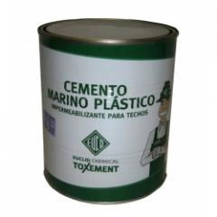 Impermeabilizante para techos  Cemento Marino Plástico