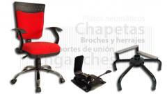 Partes metálicas para muebles