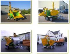 Astilladora Forestal HM 6-300 VM