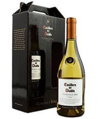 Botella de Vino Blanco Chardonnay