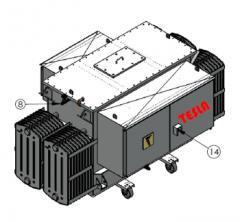 Transformadores para Rectificadores de 6, 12 y 24 750 A1.2T 480 01