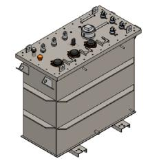 Transfoemadores Sumergibles  3 OCS 75KVA 13200V