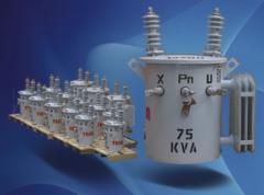Transformador Monofásico Tipo Aceite Convencional