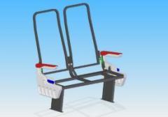 Estructuras metálicas para asientos de vehículos