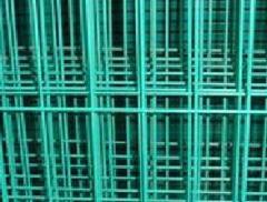 Malla electrosoldada recubierta en PVC