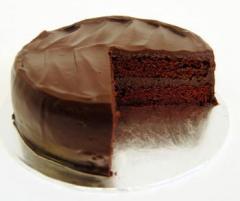 Torta con cubierta de chocolate