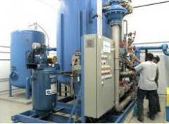 Equipamiento de tratamiento de agua