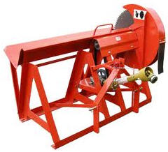 Radial saw machines, mechanical rotary (circular)