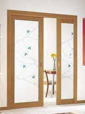 Vidrio para puertas