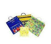 Sacos, paquetes, bolsas plásticas