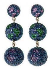 Artículos de joyería con piedras semipreciosas
