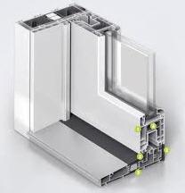 Ventanas de PVC de tres cámaras