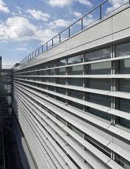 Sistemas arquitectónicos de fachada de aluminio