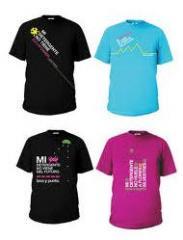 Camisetas de promoción
