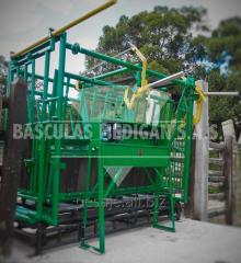 BRETE cattle scale mechanical fashion. DOUBLE 2000