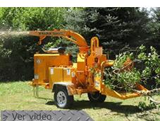 Chapiadoras para procesar un árbol